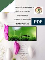 edafologia alelopatia