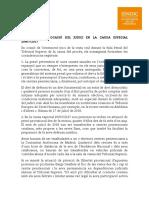 Comunicado del Síndic firmado por los expresidentes de la Generalitat y del Parlament sobre los presos