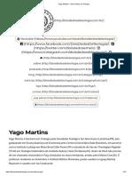 Yago Martins – Dois Dedos de Teologia