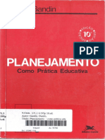 Planejamento Como Pratica Educativa