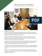 10-12-2018 Es Sonora Buen Referente Para Invertir Constellation - El Imparcial