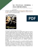 2001:UNA PELÍCULA SEMINAL | IVÁN RODRIGO MENDIZÁBAL