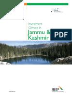 Jammu & Kashmir INDUSTIAL INVESTMENT CLIMATE