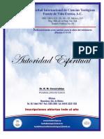 Autoridad Espiritual 1.doc