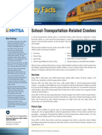 2016 School-transportation Related Crashes Traffic Safety Fact Sheet