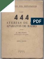 Recetario Reparacion Radios Antiguas