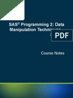 Sas Syntax Review
