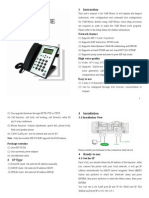 Yealink Basic IP Phone SIP-T9CM User Manual