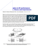 Understand Ripples in RF Performance Measurements Theory and Experiments