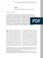 Imagenes Del Fin, Narrativas de La Crisis Socioecologica en El Antropoceno Svampa