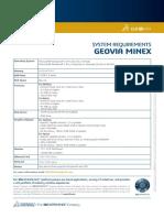 GEOVIA Minex 6.5.4 SystemRequirements