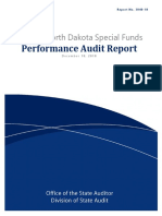 ND Special Funds - Performance Audit Report