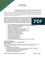 Sample Resume- Executive CV