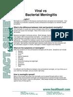 Viral vs Bacterial Meningitis
