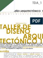 Clase 00 Tda1-Presentacion