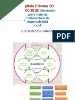 Punto 6.3 Derechos Humanos Norma ISO 26000