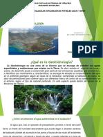 Exposicion      Geohidrología