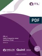 ITIL4 Public FAQs