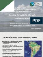 1. El Agua en América Del Sur