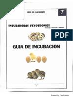 Manual Incubadora