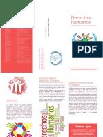 Folleto Derechos Humanos