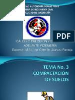 Tema No.3- Compactación de Suelos