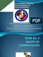 Tema No.4- Equipo de Compactación