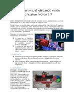 Inspección Visual Utilizando Visión Artificial en Python 3