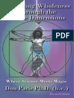 Regaining Wholeness Through the Subtle Dimensions