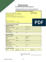 Formulario de Solicitud de Permiso de Descarga 2008 (Version 1)