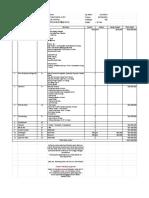 Rancangan Anggaran Pernikahan Purnomo