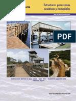 Estructuras para zonas acuáticas, humedales