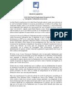 PRONUNCIAMIENTO. La decisión de la Sala Penal de Apelaciones de apartar al Juez  Concepción Carhuancho es un exceso.