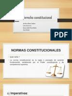 TIPOLOGIA DEL DERECHO CONSTITUCIONAL
