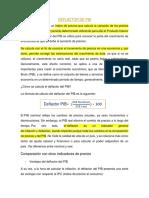 DEFLACTOR DE PIB