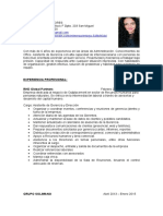 CV Teresa Trebejo