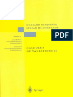 [Applications of Mathematics,] Mariano Giaquinta, Stefan Hildebrandt - Calculus of Variations II. the Hamilton Formalism_ the Hamiltonian Formalism_ v. 2 (2006, Springer)