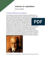 SIGMUND FREUD SENTIMIENTO DE CULPABILIDAD.docx