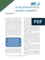 3. ARTÍCULO LA DIRECCIÓN DE PROYECTOS NO ES SOLO PARA GRANDES COMPAÑIÁS.pdf