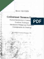 Sluchin, B. Contemporary Trombone Excerpts