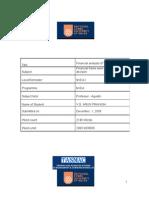 Financial Analysis of Tnpl