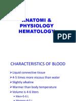 Anatomi & Fisiologi Hematologi FIX