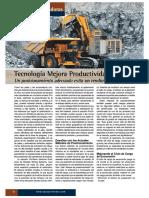 Equipo Minero Tecnologia Mejora Productividad de Palas Sep2018