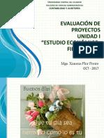 Unidad I Estudio Económico Financiero