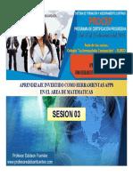 Sesion 03 Ga-20 Bases Pedagogicas II -2019