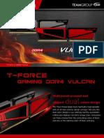 Vulcan Ddr4 Desktop Memory Teamgroup En