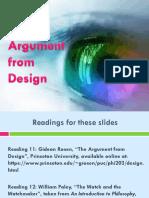 Argument From Design