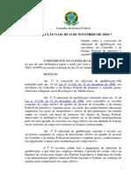 Res 126-2010 adicional qualificação