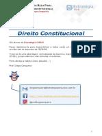 XXV OAB Aula Extra Resumo Direito Material Constitucional