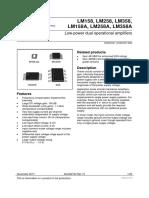 Datasheet LM 386